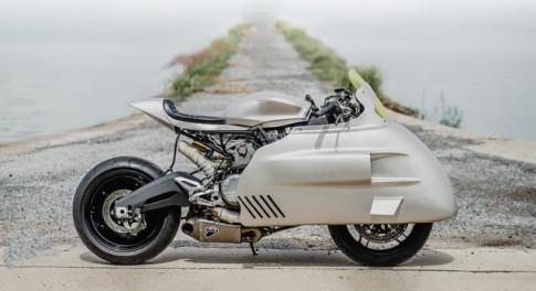 Ducati Panigale 899 do voi kieu dang khoa hoc vien tuong thap nien 1950