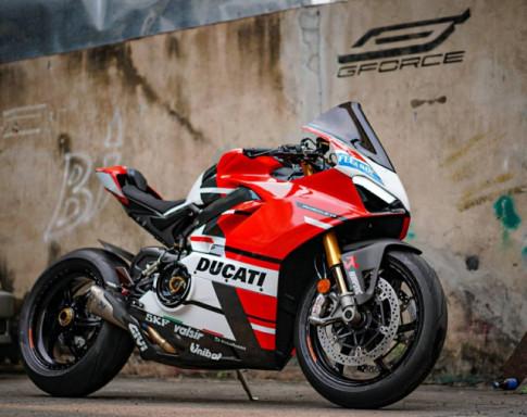 Ducati Panigale V4 S do cang det voi dien mao moi sieu an tuong