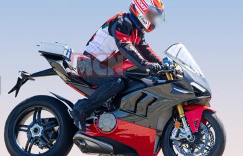 Ducati Panigale V4 Superleggera chinh thuc lo dien voi ve ngoai Carbon cuc dinh