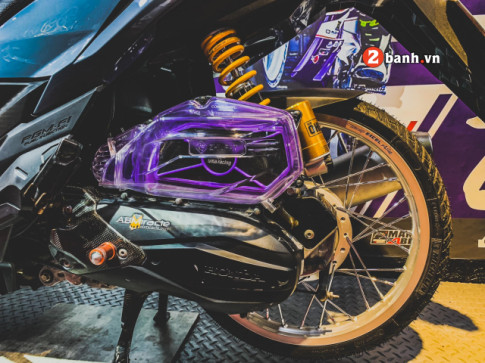 Vario 150 do: man lot xac mang net dep ma mi cua biker Viet